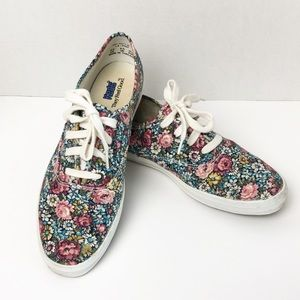Keds Floral 90's Retro Vintage Sneakers 9